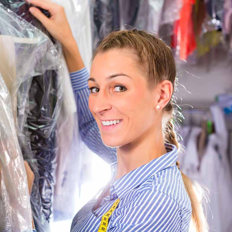 dry cleaning pickup service